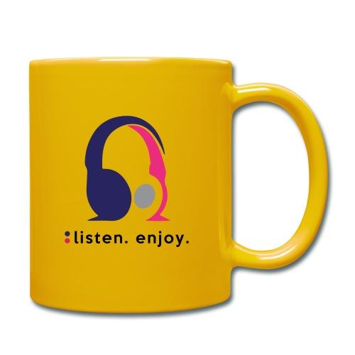liste. enjoy. - Full Colour Mug