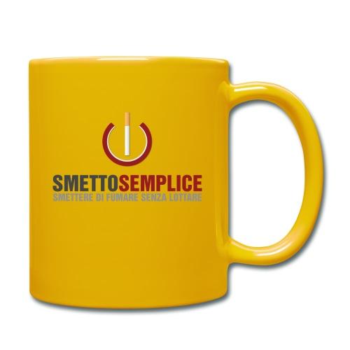 Smetto Semplice - Tazza monocolore