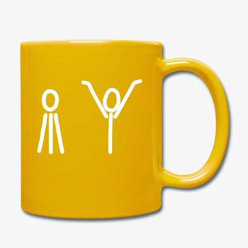 iYpsilon-iY-kurz - Tasse einfarbig