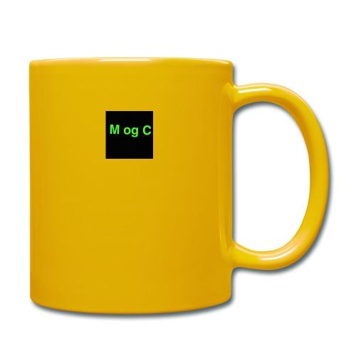 mogc - Ensfarvet krus
