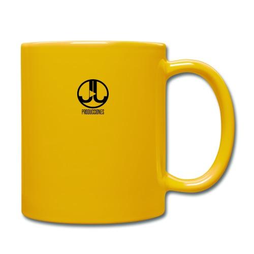 Logo JJ Producciones - Taza de un color