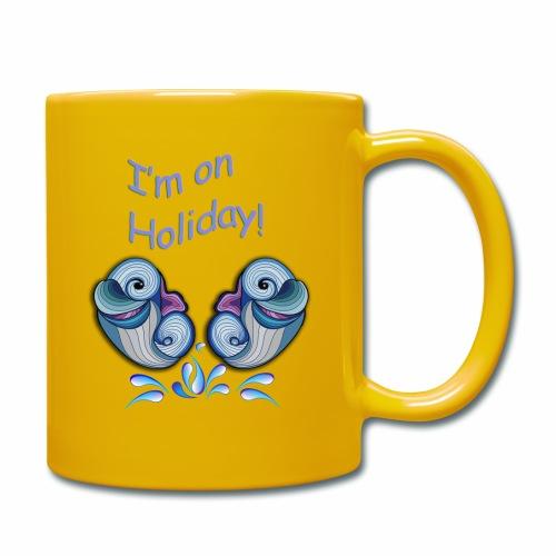 I'm on holliday - Full Colour Mug