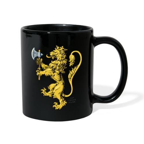 Den norske løve i gammel versjon - Ensfarget kopp