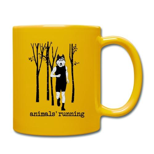Loup running - Mug uni