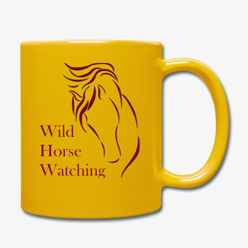 Logo Aveto Wild Horses - Tazza monocolore