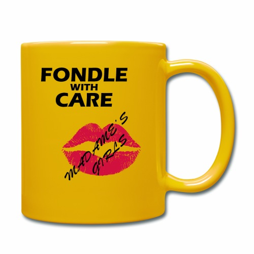 Fondle with Care - Full Colour Mug