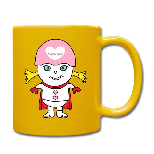 Superheld Mädchen - Tasse einfarbig