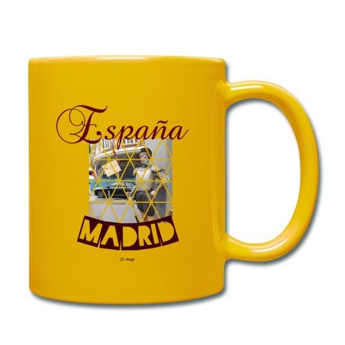 España madrid - Taza de un color