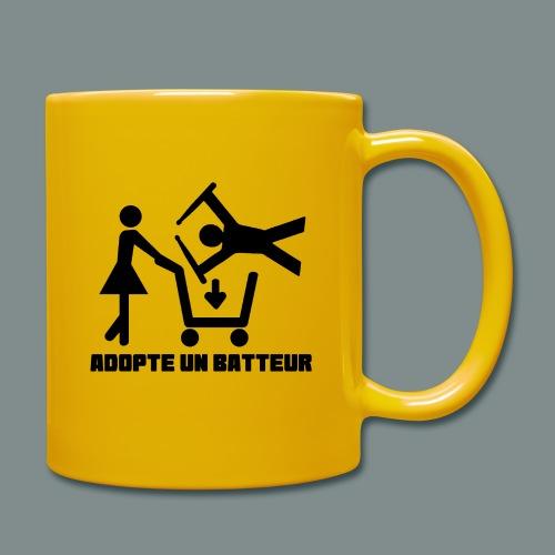 Adopte un batteur - idee cadeau batterie - Mug uni