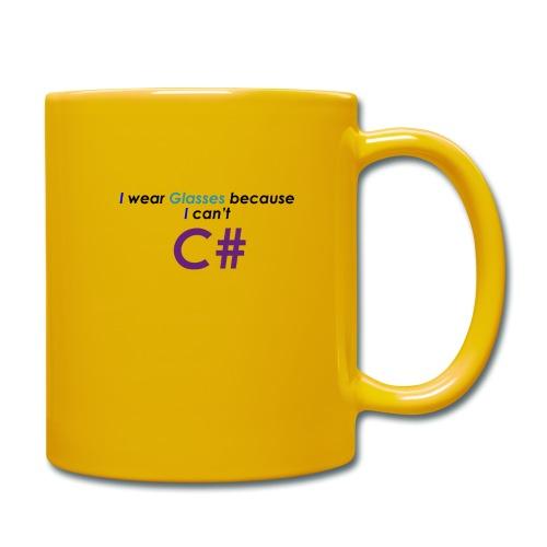 Can't C# - Tazza monocolore