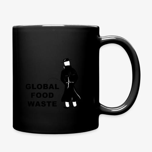 Pissing Man against Global Food Waste - Tasse einfarbig