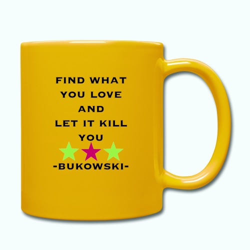 bukowski - Full Colour Mug