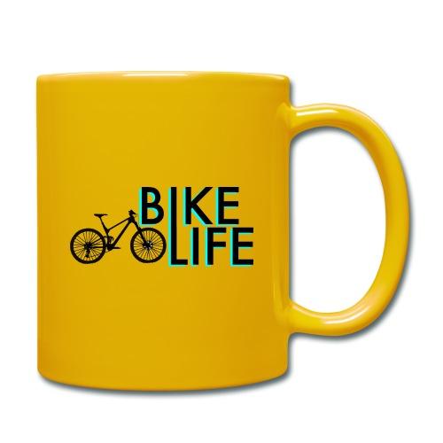 Bike Life - Tasse einfarbig