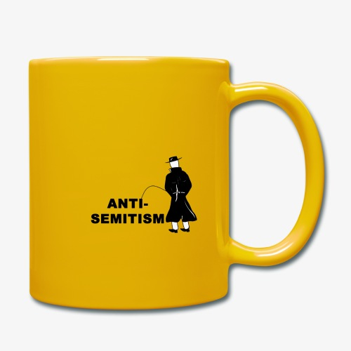 Pissing Man against anti-semitism - Tasse einfarbig