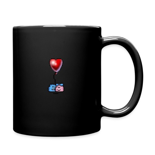 Heart Balloon - Tasse einfarbig