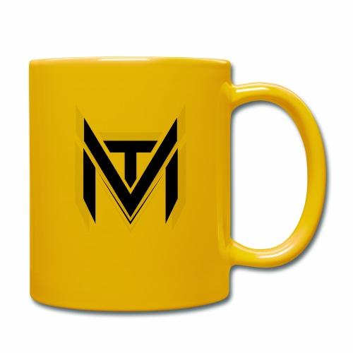MadVexTV Logo Schwarz - Tasse einfarbig