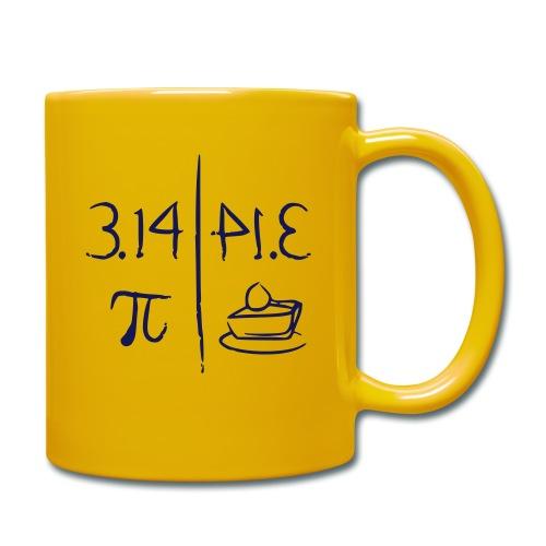 pi vs pie - Full Colour Mug