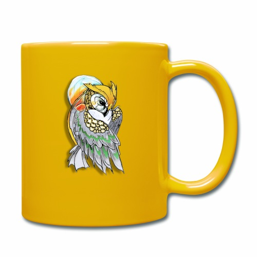 Cosmic owl - Taza de un color