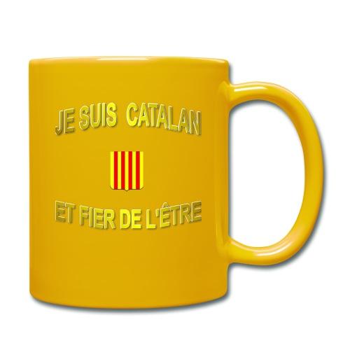 Tee-Shirt supporter du pays CATALAN - Mug uni