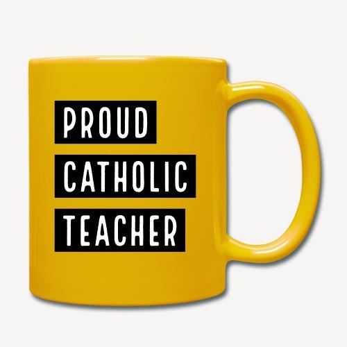 BECHER - STOLZER KATHOLISCHER LEHRER - Tasse einfarbig