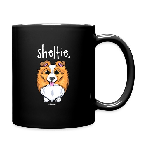 Sheltie Dog Cute 5 - Full Colour Mug