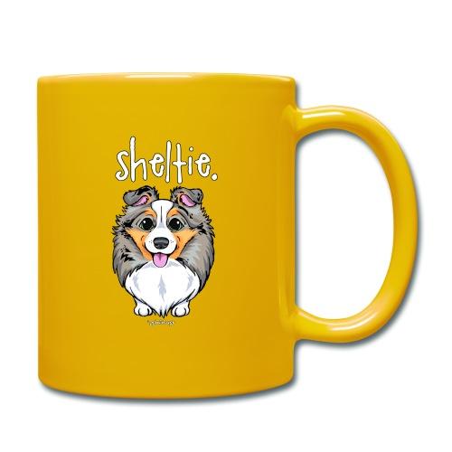 Sheltie Dog Cute 4 - Full Colour Mug