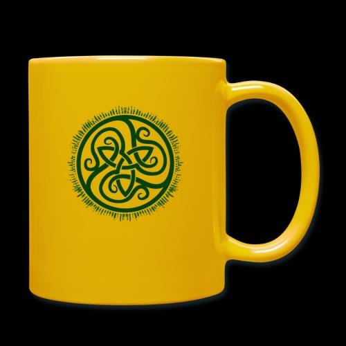 Green Celtic Triknot - Full Colour Mug