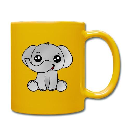 Elephant - Taza de un color