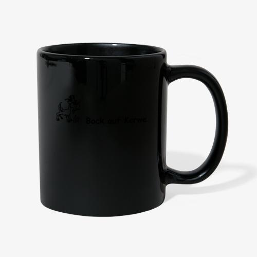 Bock auf Kerwe - so geht es auch - Tasse einfarbig
