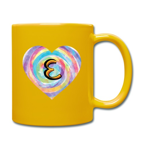 Eh, have a heart for a name that starts with E - Full Colour Mug