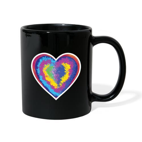 Colorful Heart - Full Colour Mug