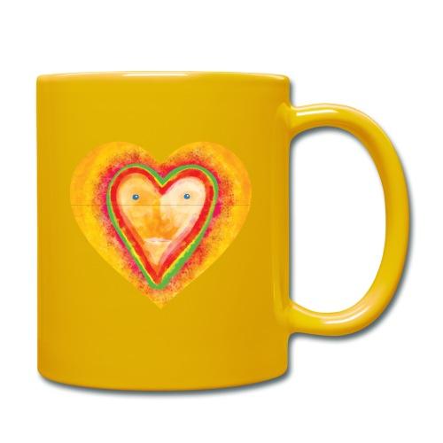 Heartface - Full Colour Mug