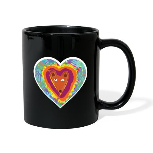 Foxy Heart - Full Colour Mug