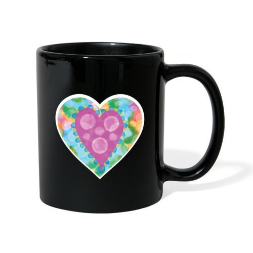 Heart Bubbles make you float - Full Colour Mug