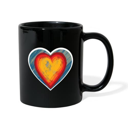 Warm lovely heart - Full Colour Mug
