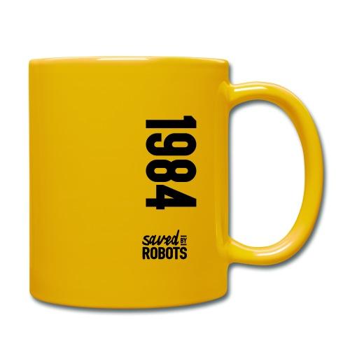 1984 / Saved By Robots Premium Tote Bag - Full Colour Mug