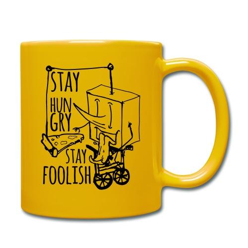 stay hungry stay foolish - Full Colour Mug