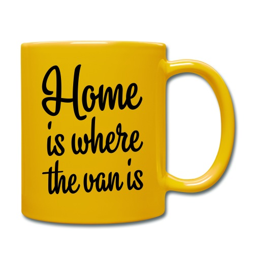 Home is where the van is - Autonaut.com - Full Colour Mug