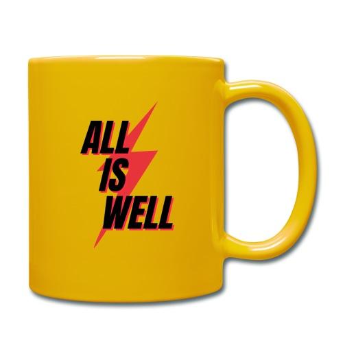 All is well - Taza de un color