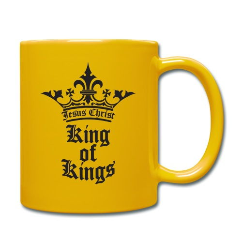 king_of_kings - Tasse einfarbig