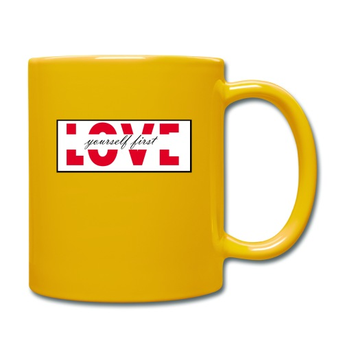 love - Tazza monocolore