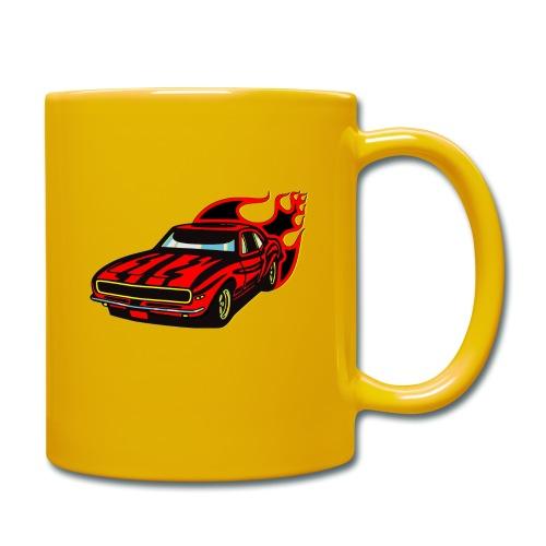auto fahrzeug rennwagen - Tasse einfarbig