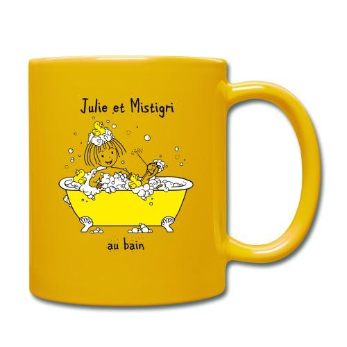 Julie et Mistigri au bain - Mug uni