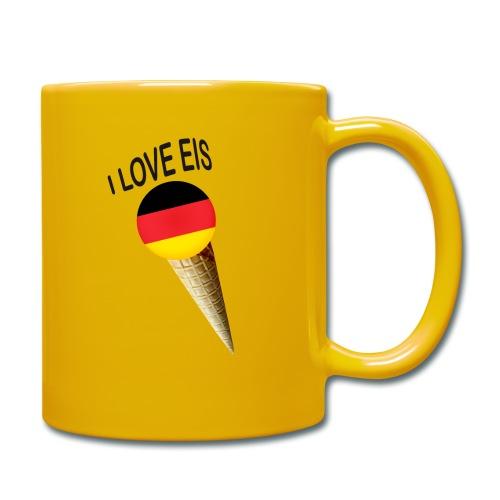 Fußball WM Fan Geschenk - Tasse einfarbig