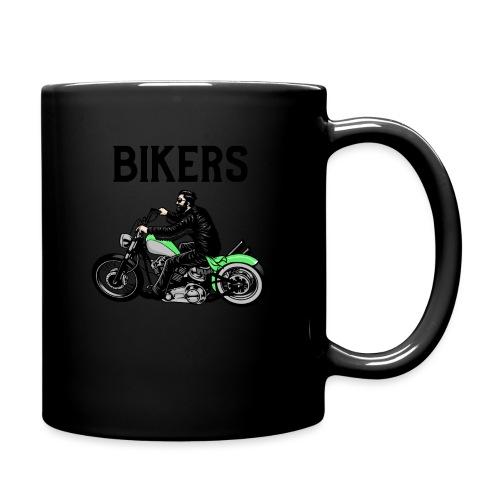 Green bikers - Mug uni