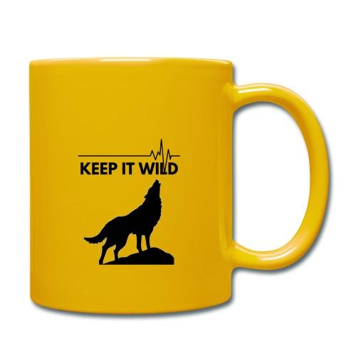 Keep it wild - Tasse einfarbig