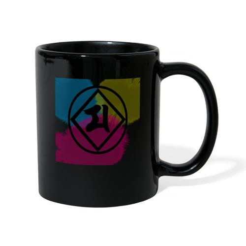 Logo Japones color - Taza de un color