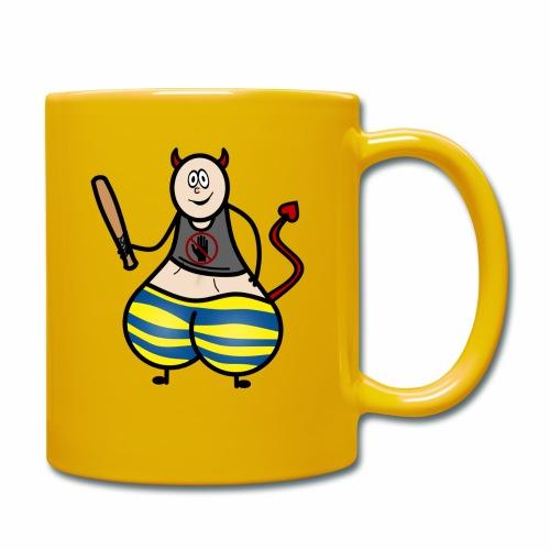 Devil No Touchies Charlie - Full Colour Mug