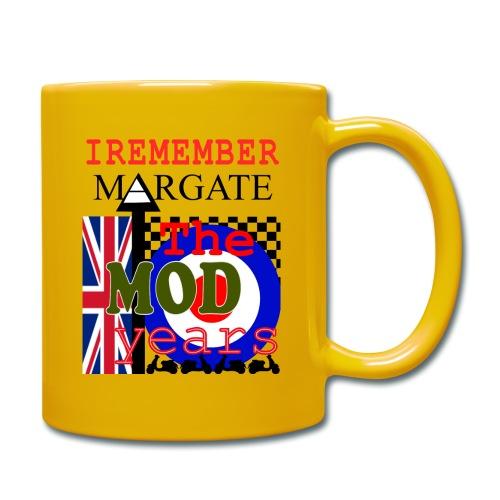 REMEMBER MARGATE - THE MOD YEARS 1960's - Full Colour Mug