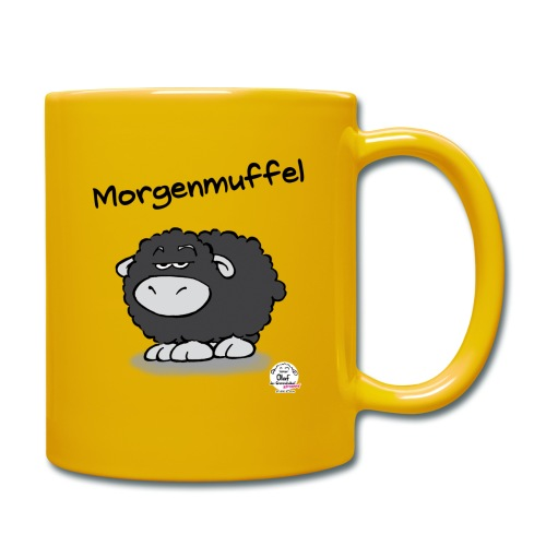 Tasse Olaf Morgenmuffel - Tasse einfarbig